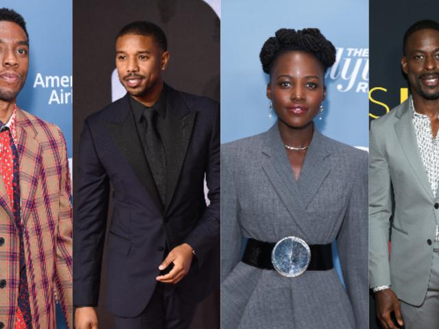 Wakanda'da Kazanma: Chadwick Boseman, Michael B. Jordan, Lupita Nyong'o ve Sterling K. Brown 2019 Altın Küre'de Sunuldu [Güncelleme]