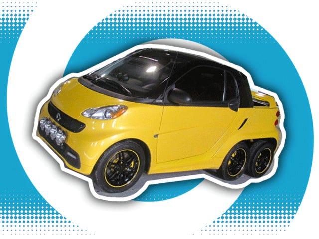Chiếc xe thông minh sáu bánh này là động lực hoàn hảo cho sự điên rồ của bạn