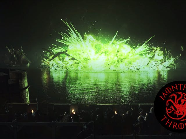 With The Battle Of The Blackwater, Game Of Thrones went bigger than ever before