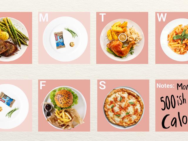 Svälta dig själv två dagar i veckan är egentligen inte en dålig kost