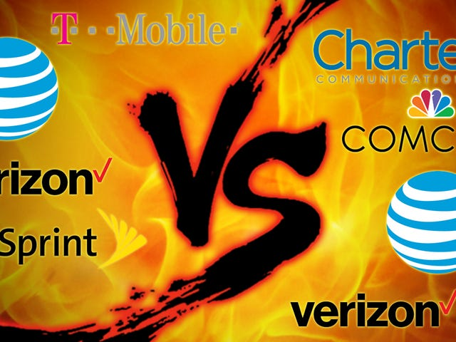 Evil Week Showdown: Cell Carriers vs. Cable Companies