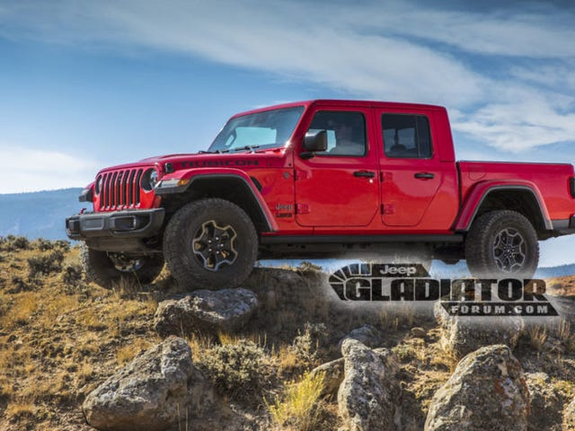 Rok 2020 Jeep Gladiator Pickup Truck: This Is It