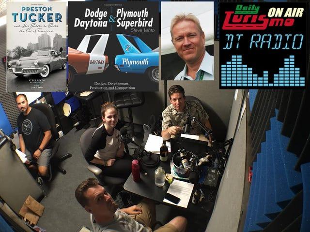 매일 Turismo 라디오 쇼 : 오늘 오후 7시 Pac, 10PM 동부 시간에 Steve Lehto Talks Tuckers, Daytonas 및 Superbirds.