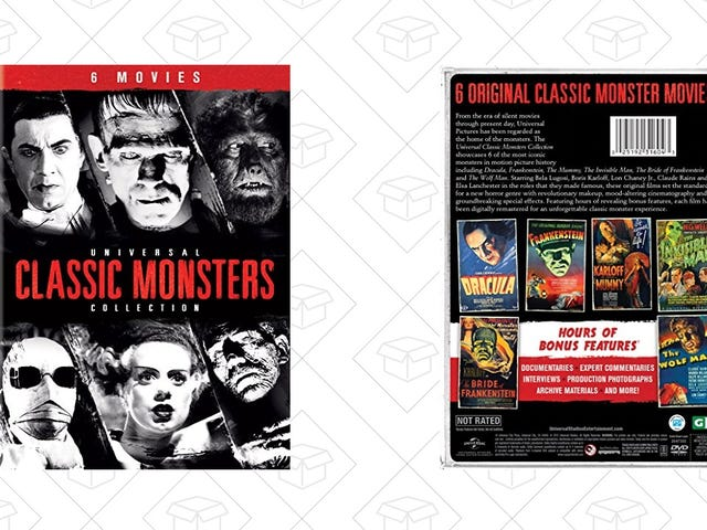 Snatch Sei Film Monster Classic a una volta per $ 18