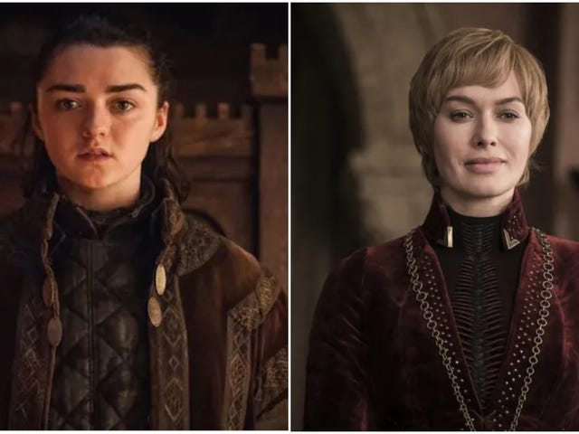 Maisie Williams and Lena Headey both wished for an Arya-Cersei standoff