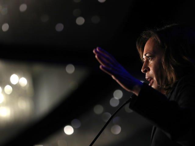 Senator Kamala Harris Ingin Negara Mendapatkan Persetujuan Dari DOJ Sebelum Mengesahkan Hukum Aborsi Terbatas
