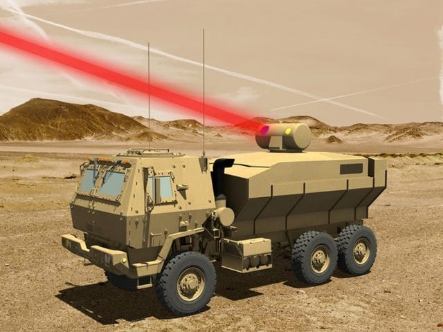 The Army Will Finally Be Able To Blast Drones With Lasers Soon