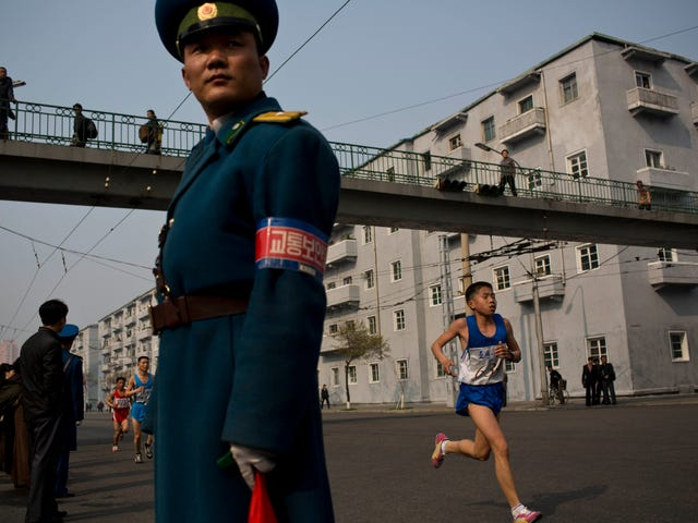 Scenes From North Korea's Marathon