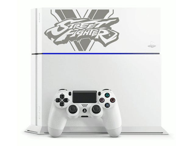 Jepun Mendapatkan Four Different Street Fighter V Limited Edition PS4s