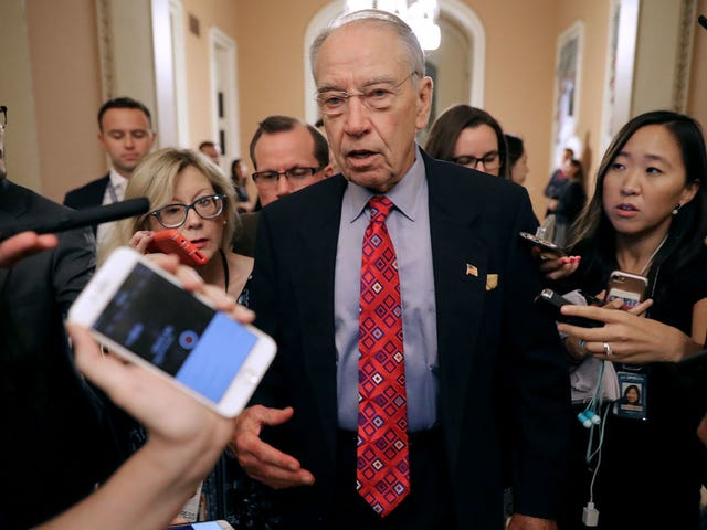 Chuck Grassley Signals Possibility of Second Hearing
