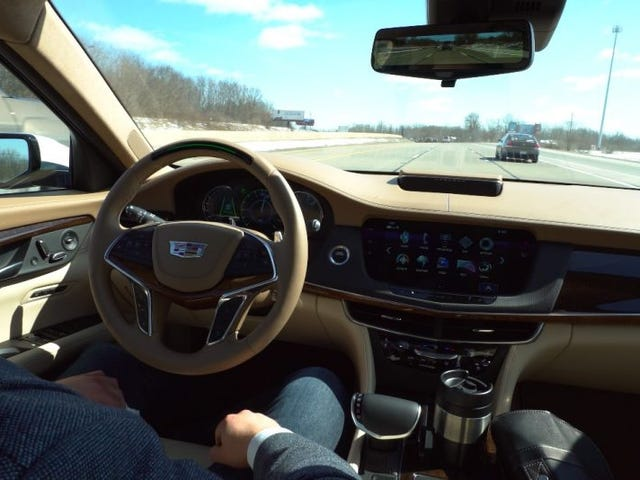 GM Muscles In On Tesla's Autopilot With 'Super Cruise' Tech On New Cadillac CT6s