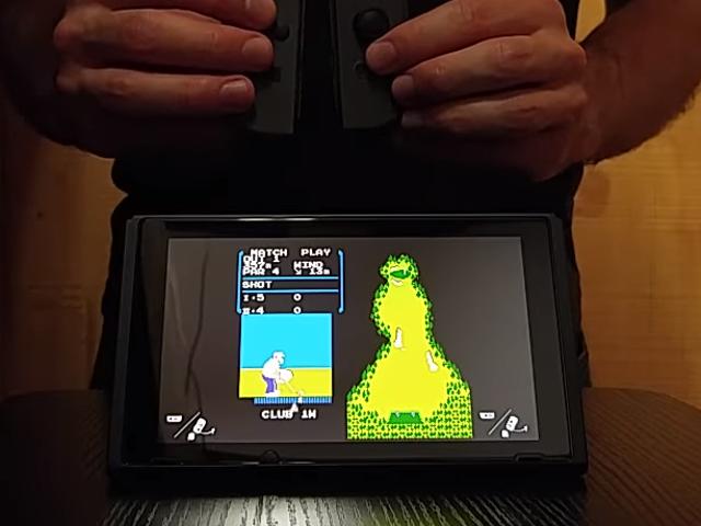 Les pirates disent que la dernière mise à jour du micrologiciel de Nintendo Switch supprime le jeu de golf secret