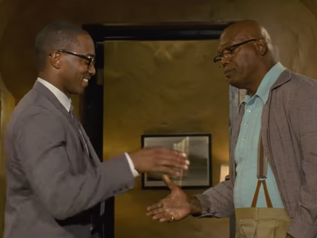 If anyone can make banking look fun, it's Anthony Mackie and Samuel L. Jackson