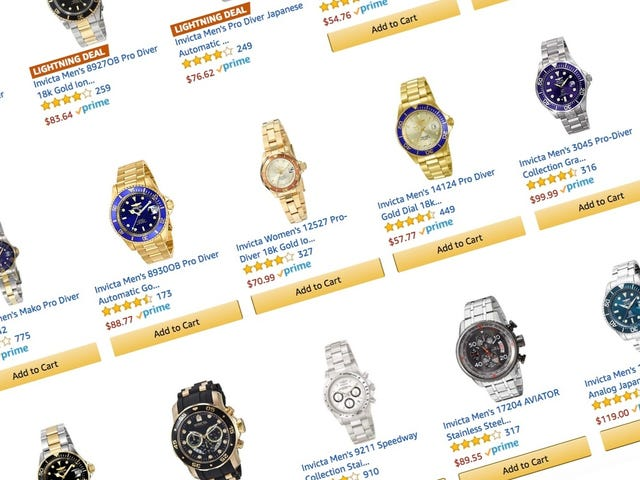 This Huge Invicta Watch Sale Is All 30% Off Right Now