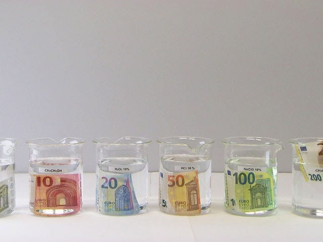 I soldi europei non sono solo più carini dei nostri dollari