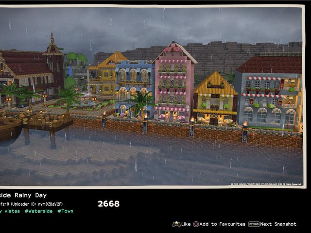 Dragon Quest Builders 2のような読み込み画面が必要なゲーム
