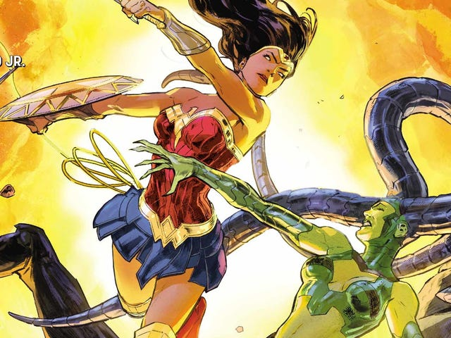 Wonder Woman searches for her missing family in this exclusive preview
