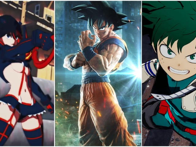 Anime Is Perfect For Fighting Game Fodder