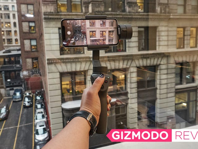 DJI's New Osmo Gimbal Is the Rare Phone Accessory That's Actually Worth It