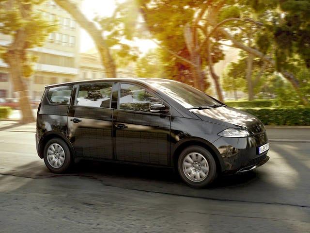 Sono Motors suunnittelee rakentavansa aurinkovoimaista sähköautoa entisessä Saabin tehtaassa