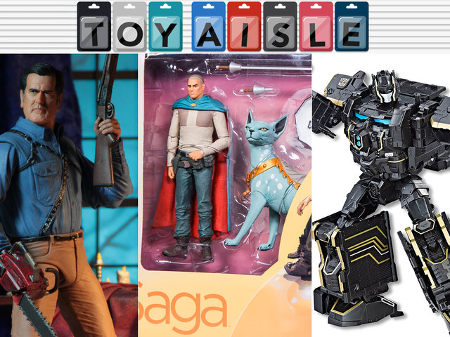 Saga's Lying Cat Finally Gets an Action Figure, and More of the Best Toys of the Week