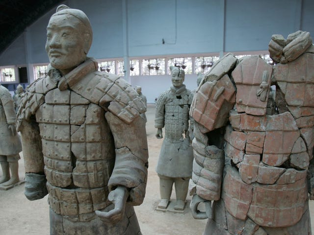 FBI Says Museum Party Attendee Took Selfie With Terracotta Warrior, Stole Thumb