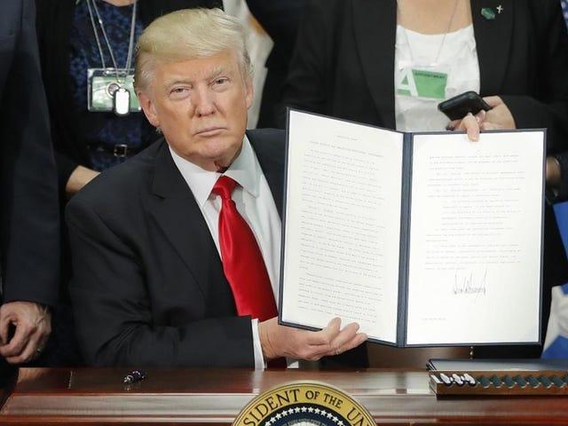Trump voisi allekirjoittaa Executive Orderin kieltämällä edulliset laajennetut takuut