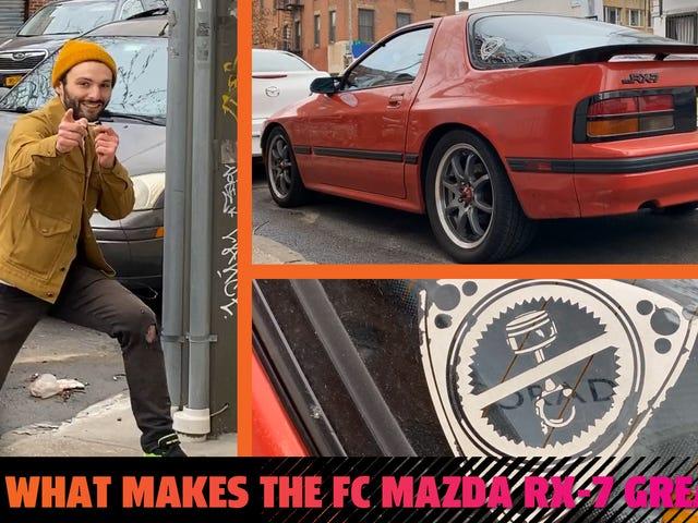 FC Mazda RX-7 on ilon majakka