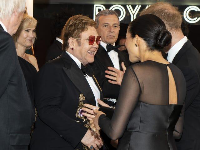 Elton John Now Implicated in Megxit