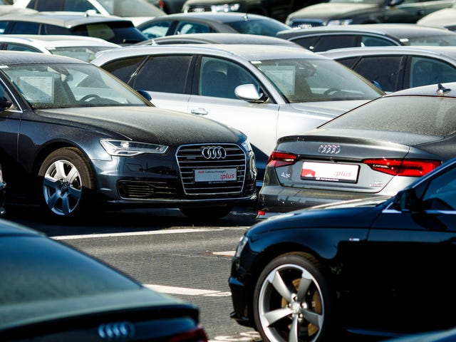 Parent Sued After Toddler 'Draws' On 10 New Cars With A Rock At Audi Dealership In China