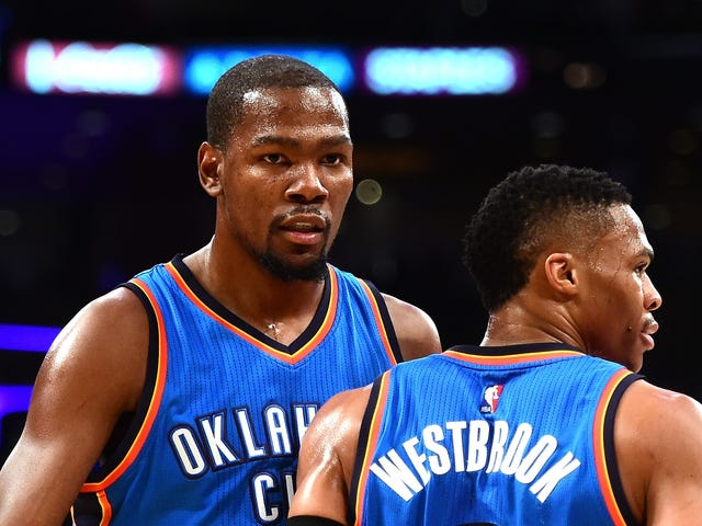 Kevin Durant Dan Russell Westbrook Make It All So Simple