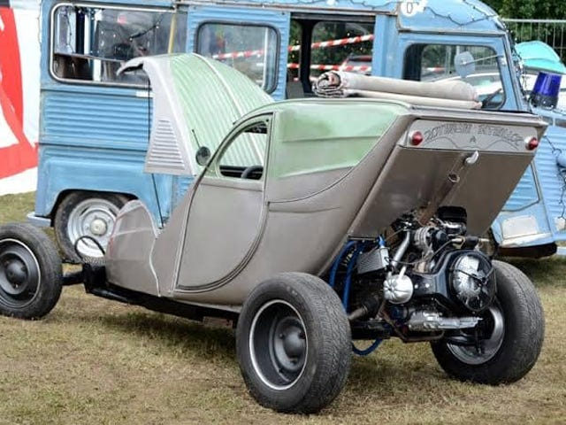 There's a world of 2CV hot rods out there.