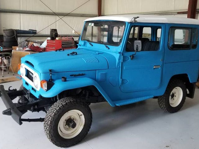 At $22,000, Would You Start Cruising in This 1978 Toyota Land Cruiser Diesel?