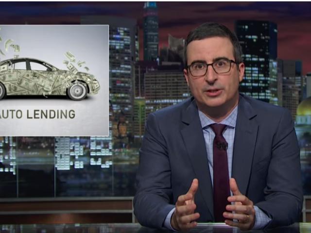John Oliver Eviscerates Shady Auto Lenders