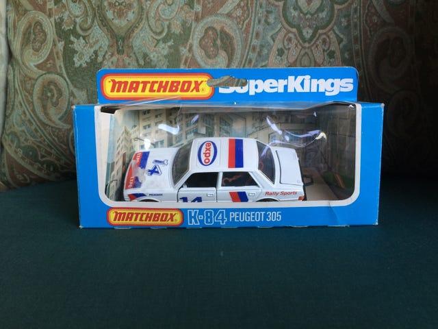 French Friday: Matchbox Super Kings Peugeot 305