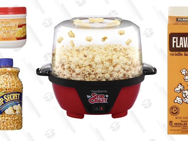 The Gear You Need to Recreate Movie Theater Popcorn at Home