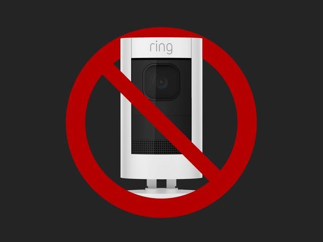 Ikke kjøp noen ringekamera