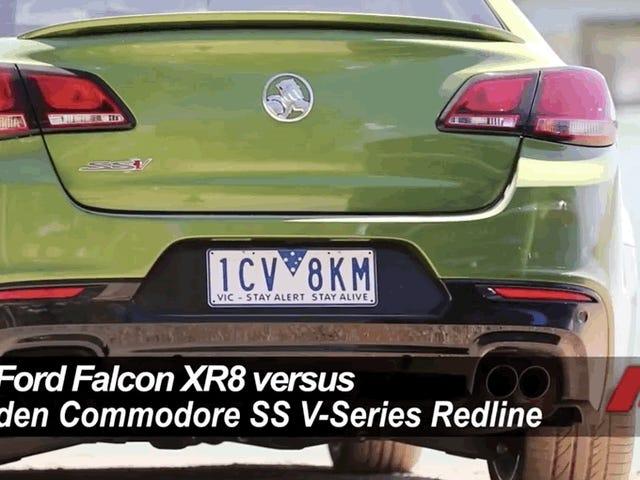 På slutten var Ford Falcon den bedre australske muskelbilen