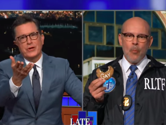 Rob Corddry and Stephen Colbert sex pastries for Jeff Sessions' holy task force