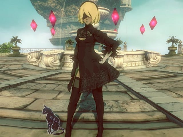 Can't Get Enough Of Nier: Automata Or Gravity Rush 2? How About Both In One?