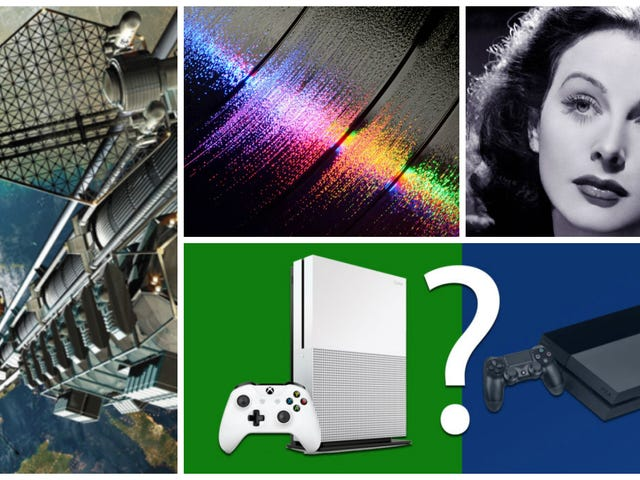 Cristales extraterrestres, ascensores espaciales, consolas del futuro: lo mejor de la semana