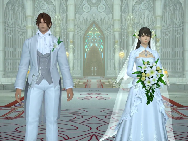 Final Fantasy XIV's Wedding Attire Will No Longer Be Tied To Character Gender