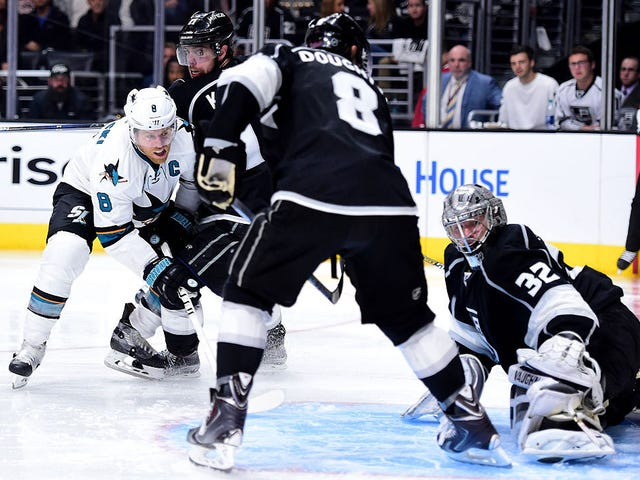 Joe Pavelski Muscled The Sharks To A Series Lead
