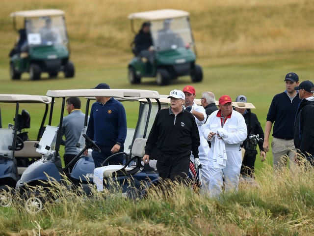 Here's How Much Trump's Golf Trips Have Cost Taxpayers