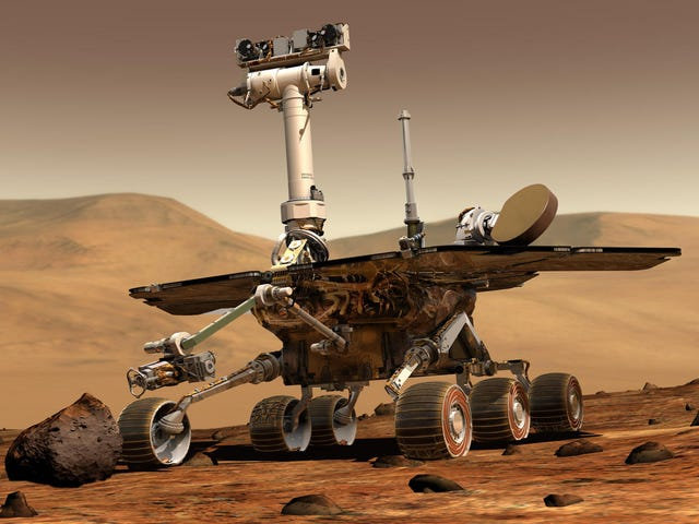 La NASA abandona definitivamente al rover Opportunity tras 8 meses sin poder establecer contacto