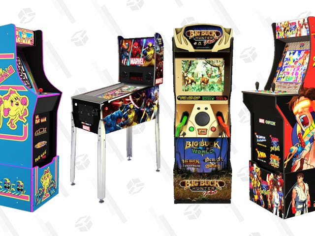 Ms. Pac-Man, Marvel vs Capcom, and More of Arcade1Up's Newest At-Home Cabinets Launch Later This Year
