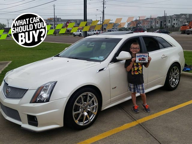 My Cadillac CTS-V Wagon Was Stolen And Trashed! What Car Should I Buy?