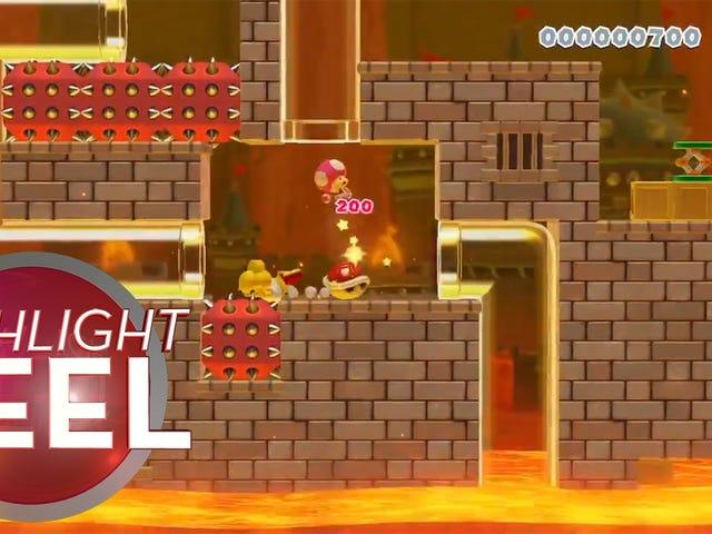 Super Mario Maker 2 Run Ends In Tears