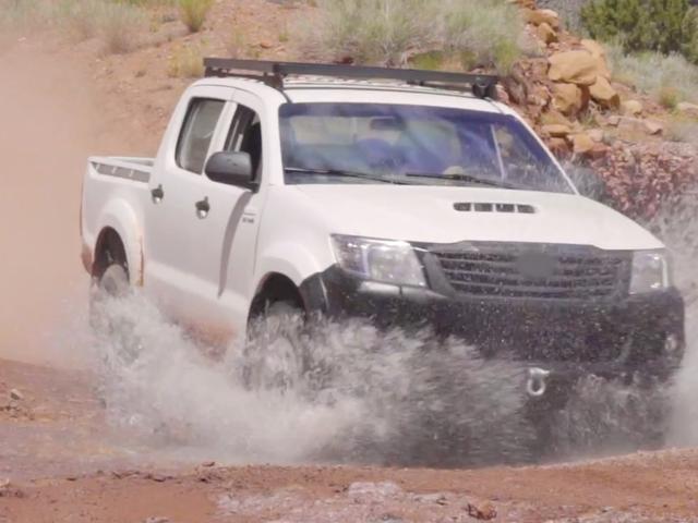 Xe bán tải cho cuộc chiến Toyota tiếp theo hoàn toàn không phải là một chiếc Toyota