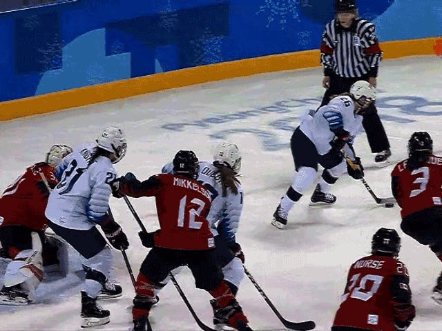 The U.S. Women Were This Close To Taking Canada To Overtime